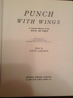 Punch With Wings A Cartoon History Of The Royal Air Force
