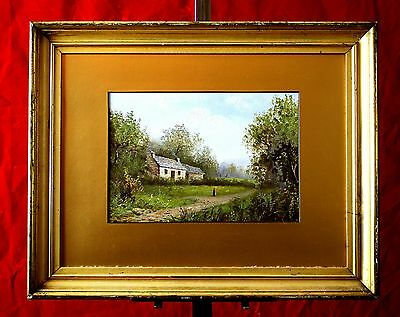 Edward Littlewood (English C19th) Superb Victorian Oil - Penrith Cottage