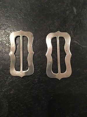 Antique Silver Shoe Buckles