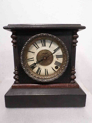 American 8 Day Striking Mantle Clock Circa 1890