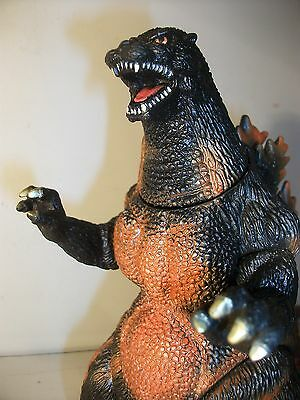 Burning Godzilla 1995 rare vintage official Bandai figure Japan excl  UK seller