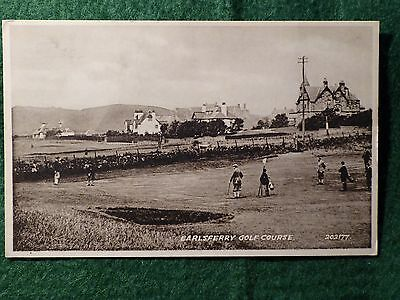 Earlsferry Golf Course Elie. Fife. Valentines.