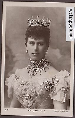 Lovely Antique 1910 H.M.Queen Mary British Royalty Postcard