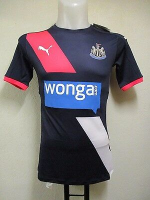 Newcastle United 2015/16 S/s 3Rd  Actv Shirt By Puma Size Medium Brand New