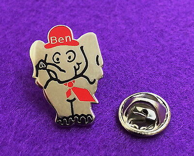 Vintage Motor & Allied Trades Benevolent Fund Charity Badge - BEN the Elephant