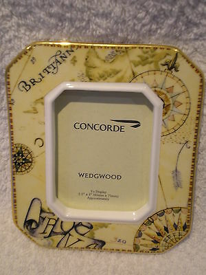 Wedgwood Concorde Photo Frame