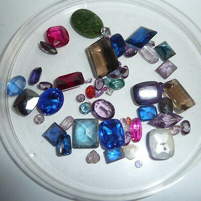 Mix lot of semi precious stones TCW 112 ct