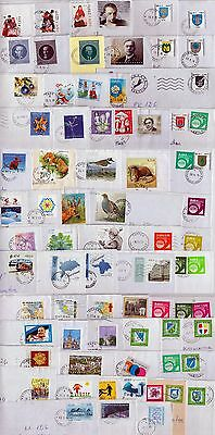 Estonia: Stamp Collection On Letters,mainly Recent Stamps