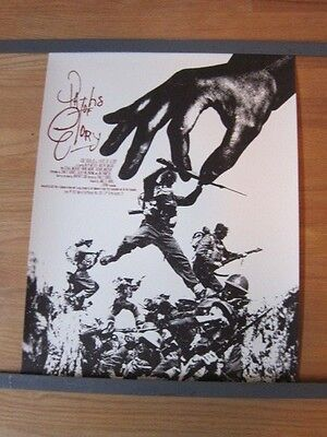 PATHS OF GLORY Stanley Kubrick Special 2012 Mondo Poster Jay Shaw #ed Ltd