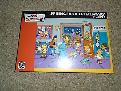 BNIB The Simpson Springfield Elementary jigsaw puzzle 500 pieces