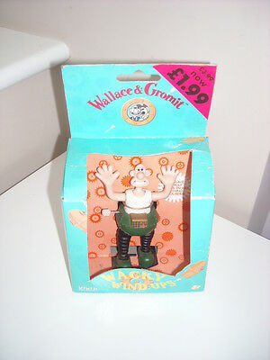 Wallace And Gromit Wacky Wind Up Wallace In Techino- Trousers Bnib