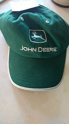 John Deere Green Hat New Logo Mint never used!