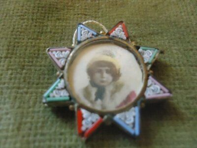 Vintage Micro Mosaic Dolls House Picture Frame