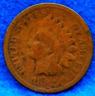 US Coin 1882 Indian Head Cent Bronze Variety 3 Better Date