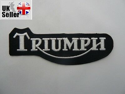 Triumph Iron-on/sew-on Embroidered Patch Motorcycle Biker