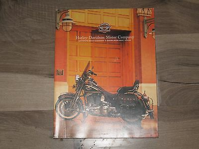 Harley Davidson Parts Catalogs 1998 95Th Anniversary
