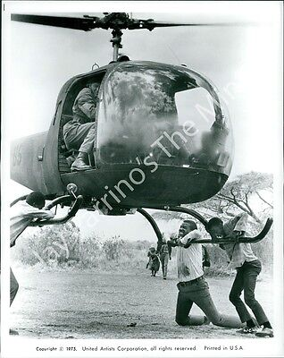 """AGK-803 Vintage Photo- Scene from """"The Wilby Conspiracy"""" (1975)"""