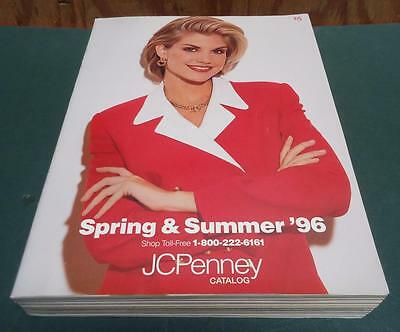 Original JCPENNEY 1996 Spring and Summer Department Store Catalog