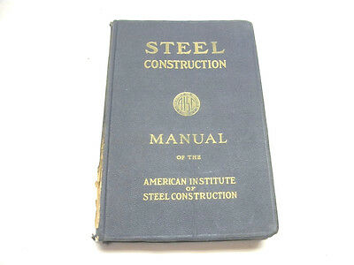 AISC Engineering Steel Construction Manual 5th Ed, 28th Printing 1961