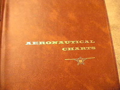 Aeronautical Chart Note Book with Charts