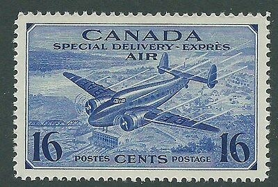 Canada 1942  16c SPECIAL DELIVERY STAMP   (MNH)