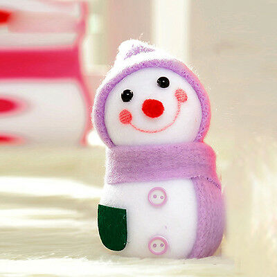 Lovely Christmas Snowman Doll Decor Xmas Tree Hanging Ornament Gift For Kids