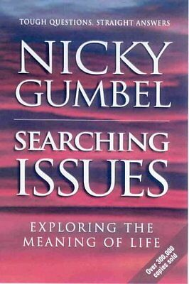 Good - Searching Issues (Alpha) - Nicky Gumbel - 0854767398