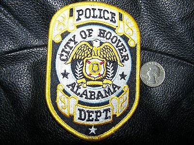 Hoover, Al Police Patch