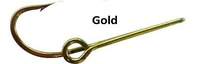 Eagle Claw Gold Hat Hooks Fish Hook Hat Pin Hook fish Hook Hat Pin