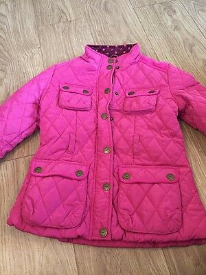 Girls Pink Next Coat