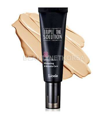 [LIOELE] Triple The Solution BB Cream (SPF30/PA++) 50ml / 2016 New / Smooth skin