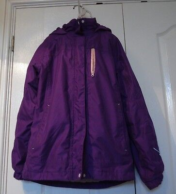 Peter Storm Girl's Purple Jacket Age 11-12 Years
