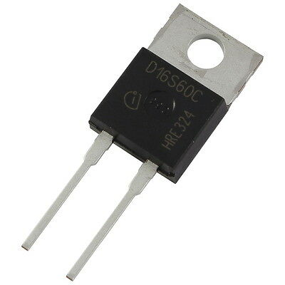 Infineon IDH16S60C SiC-Diode 16A 600V Silicon Carbide Schottky D16S60C 856059