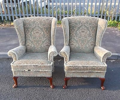 Pair Of Parker Knoll 720 Armchairs For Reupholstery    Delivery Available