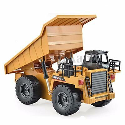 1/12 RC Remote Control 6 Channels Electric Dump Truck Toy Car Lorries For Gifts
