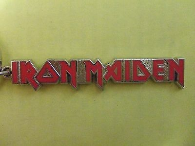 Iron Maiden: Logo Metal Keyring: Rrp £7: Official Licensed Merchandise: Look!!!