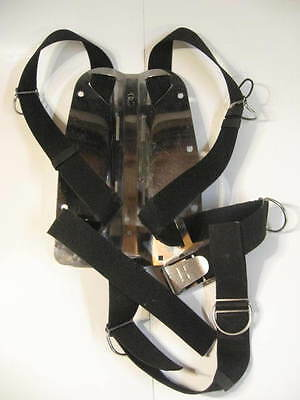Halcyon Stainless Buoyancy Compensator Backplate and Straps