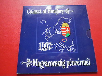 KMS Ungarn Coinset of Hungary 1997