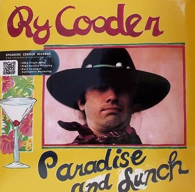 "* Reprise - Ms 2179 - Ry Cooder - ""paradise & Lunch"" 1974 - Reissue 180Gr *"