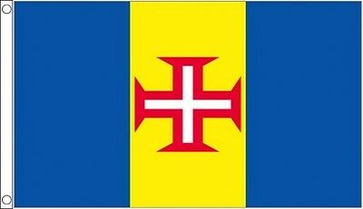 MADEIRA FLAG 5' x 3' Madeiran Portugal Portuguese Regional Flags European Europe
