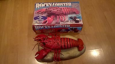 Rare Rocky The Singing Lobster Like Big Mouth Billy Bass Battery Tested & Works