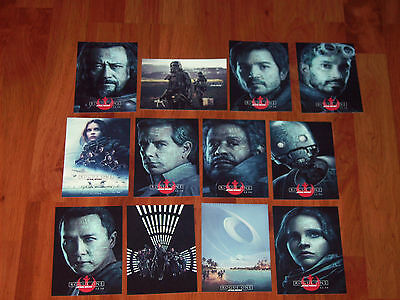 Star Wars-Rogue One Ltd Ed. Set Of 12 Promo Postcards-Chinese Theater Exclusive