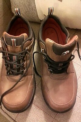 M&s Blue Harbour Brown Boots Size 7.5  Nwot Leather