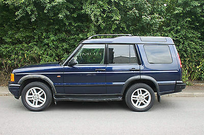 2002 Land Rover Discovery Td5 Es Blue
