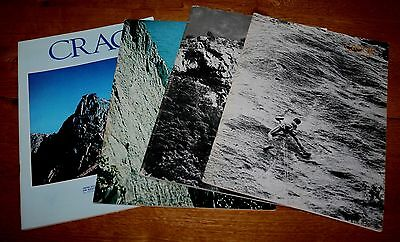 Climbing, Mountaineering, Crags Magazine 4 Issues