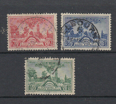 A very nice old trio of Australian 1936 issues