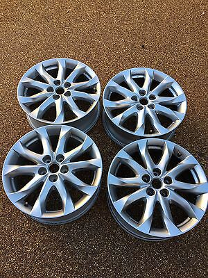 """Genuine Mazda 3 18"""" Alloy Wheels Set of 4 - Winter Tyres or Replacement (6)"""