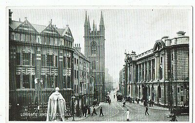 Post Card Real Photo Lowgate And G.p.o. Hull