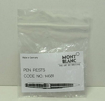 A packet of 10 Mont Blanc pen rests