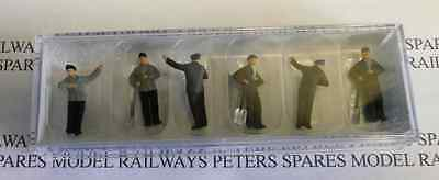 Preiser 14014 Steam Loco Crews (Pk6) OO/HO Gauge Figures